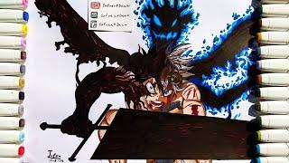 (COLABORACIÓN) Cómo dibujar a Asta | How to draw Asta - Black Clover