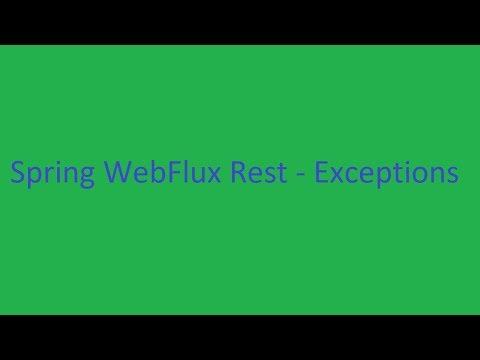 Spring WebFlux Rest Controller