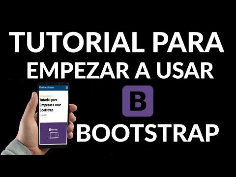 Tutorial para Empezar a usar Bootstrap