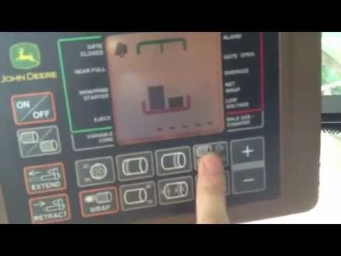 hqdefault john deere bale trak pro monitor review part 1 of 2 youtube John Deere 535 Hay Baler at fashall.co