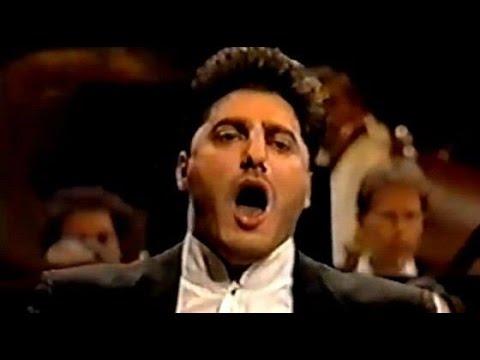 """JOSE CURA, """" PAGLIACCI """" - Concertgebouw, 1996"""