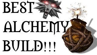 WITCHER 3 - BEST ALCHEMY BUILD (Bombs, Potions and Oils)