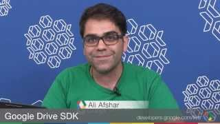 Google Drive SDK: Drive/Google+ photos integration