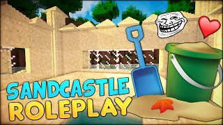a day out on the beach with friends   minecraft parody of modded roleplaying adventure videos