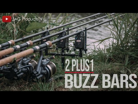 ***CARP FISHING TV*** JAG PRODUCTS 2 PLUS 1 BUZZ BARS WITH ELLIOT GRAY