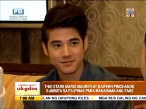 DJ D.O.N : Mario Maurer's film PEE MAK promotional tour in the Philippines • www.djdonzchannel19.com Travel Video