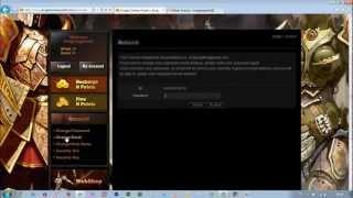Knight Online E-posta, Gizli  Soru, Kilit Şifresi, Nick Değiştirme