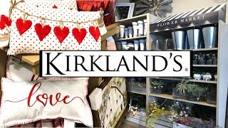 SHOP WITH ME // KIRKLAND'S VALENTINES DAY + SPRING 2019 thumbnail
