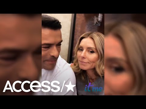 Kelly Ripa & Mark Consuelos' Kids Are Not Fans Of Their 'Riverdale' Set Antics | Access