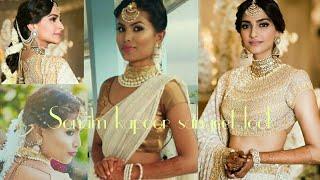 Sonam kapoor sangeet inspired look | makeup hairstyle outfit jewelry |#everydayphenomenal | Rimi das