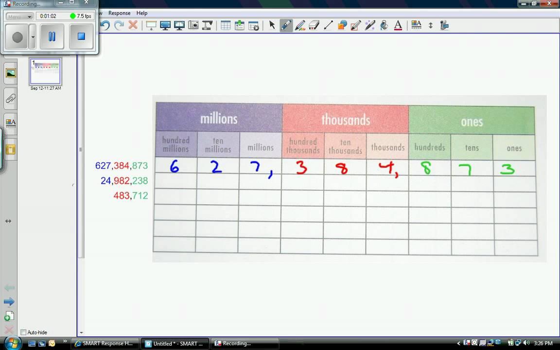 Place value chart youtube nvjuhfo Choice Image