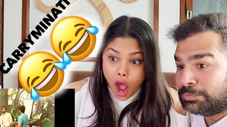 BEST REALITY SHOW IN THE WORLD Reaction | Carryminati | BEST REACTION😂😂😂😂😂
