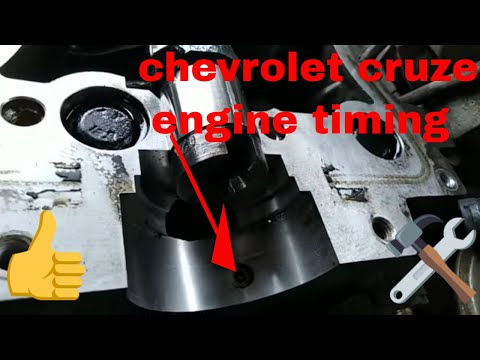 how to engine timing Chevrolet Cruze & optra engine timing & fuel injector fiting roker firing