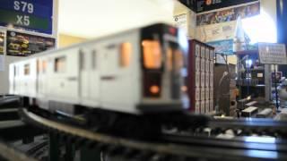 mth mta nyc subway r142a 6 local train via the express tracks