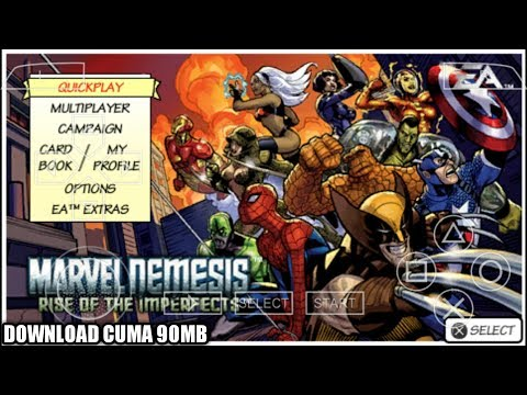 Cara Download Game Marvel Nemesis Rise Of The Imperfect PPSSPP Android