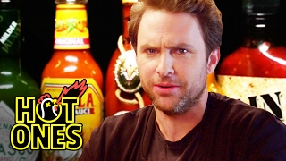 "As he seeks to ""shamelessly promote"" his new movie ""Fist Fight"" (Feb 17), actor Charlie Day submits to the Sean Evans-led onslaught of hot wings and even ..."