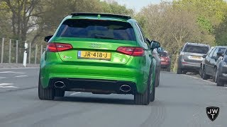 2 Minutes of Audi RS3 ACTION! LAUNCH CONTROLS, Accelerations & More SOUNDS!