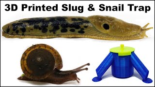 Catch Slugs & Snails With This 3D Printed Trap and Beer. Mousetrap Monday