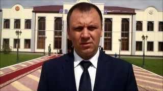 Открытие автовокзала в Сунженском районе