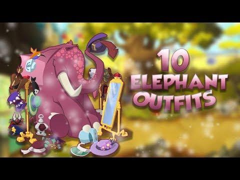 10 ELEPHANT OUTFITS | Animal Jam