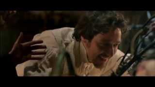 Actors Daniel Radcliffe and James McAvoy promote upcoming film, Victor Frankenstein