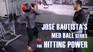 Gambar cover José Bautista's Med Ball Series for Hitting Power