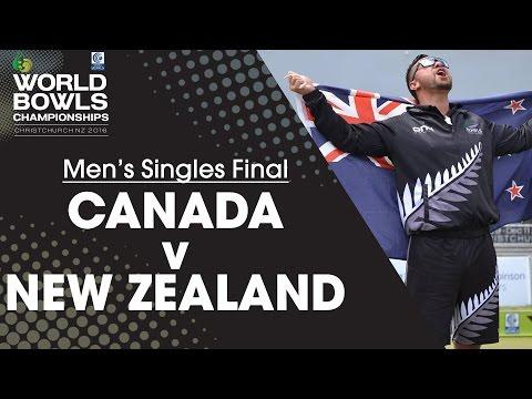 Men's Singles Final | Canada v New Zealand
