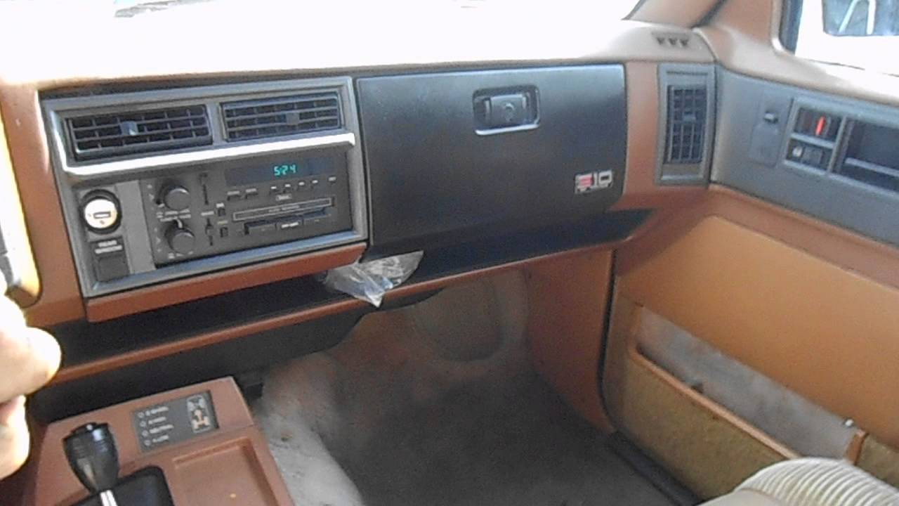 88 chevy s10 blazer 4.3 start up drive around exhaust ...
