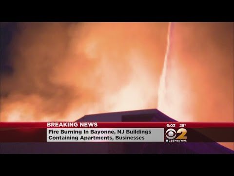 Fast-Moving Bayonne Fire