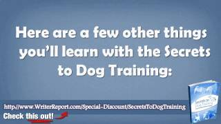 Reviews On Secrets To Dog Training - Secrets To Dog Training Guide