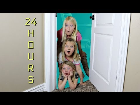 24 HOURS IN OUR BROTHER'S ROOM!