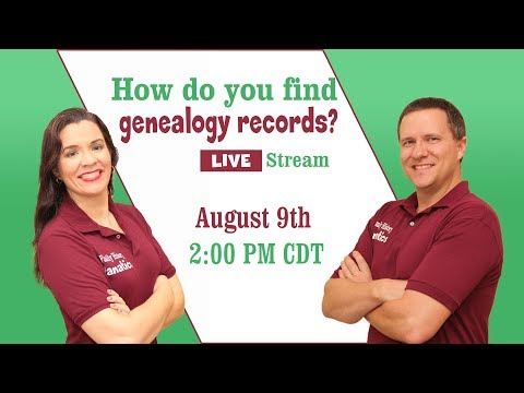 How to Find Records for Your Ancestors - Fanatical Fridays