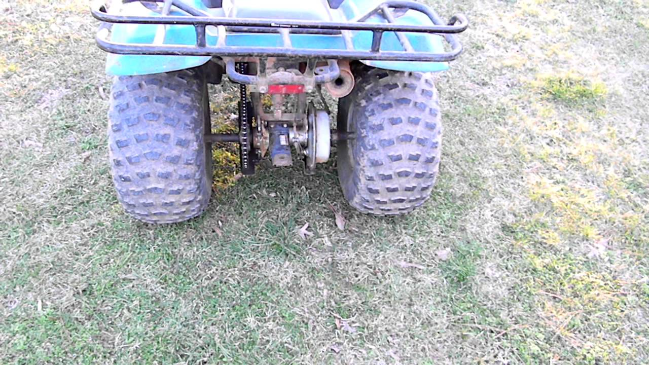 suzuki quadrunner 160 1992 youtube rh youtube com 2002 Suzuki Quadrunner 160 LT 160 Suspension