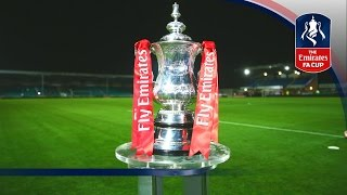 Live Draw - 2016/17 Emirates FA Cup 3rd Round