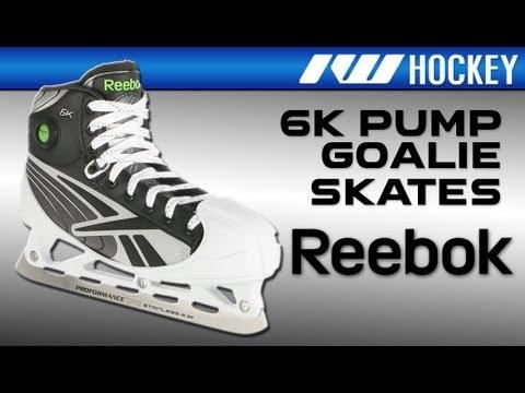 ennakkotilaus tehdashinta ostaa uusia Reebok 6K Pump Goalie Ice Hockey Skates