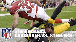 Cardinals vs. Steelers | Week 6 Highlights | NFL
