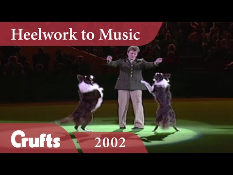 Heelwork To Music - Mary Ray's 2002 Performance | Crufts Dog Show