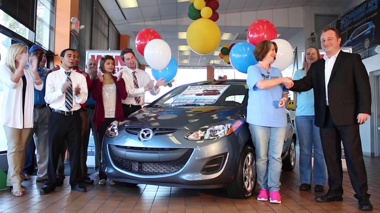 Mazda Of South Charlotte Give Back Giveaway   October 2014