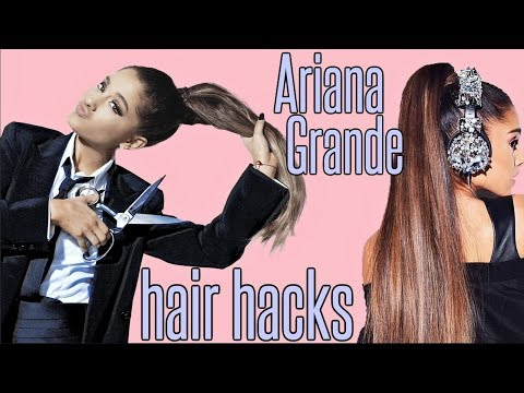 Ariana Grande HAIR HACKS EVERY Girl SHOULD KNOW !!