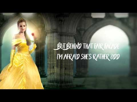 Beauty and the Beast   Belle (Lyrics On Screen)