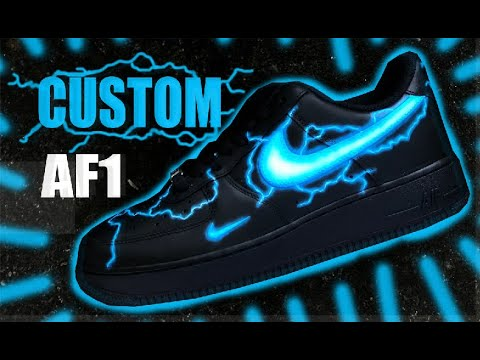 Custom Air Force 1 Jordan Vincent Youtube
