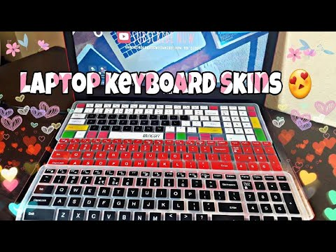 Keyboard Skin protectors❤ Silicon for Dell laptops | Red,Black,Multicolor  laptop Keyboard skins