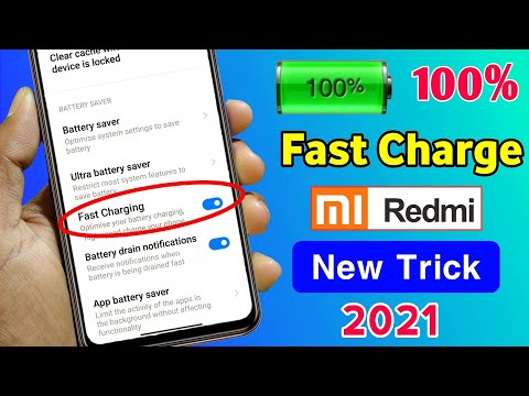 How to Enable Fast Charging in Redmi Mobile   Mobile Ko Fast Charge Karen   