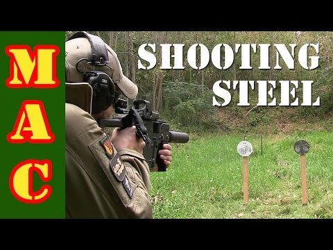 Everything about shooting steel targets