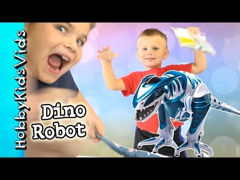 Dinosaur Robot Walking