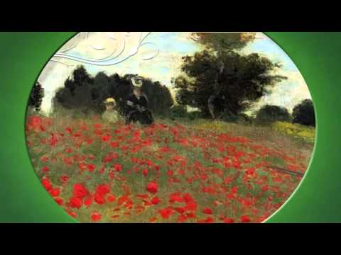 Claude Monet Champ de Coquelicots- Vidngo - YouTube