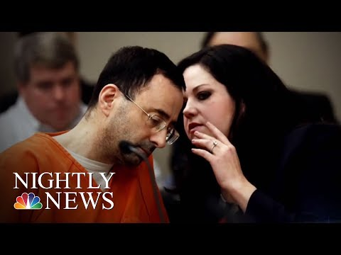 Olympic Committee Was Told In 2015 Of Suspected Abuse By Larry Nassar | NBC Nightly News