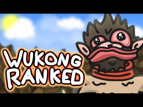 Playing WUKONG in Ranked League of Legends