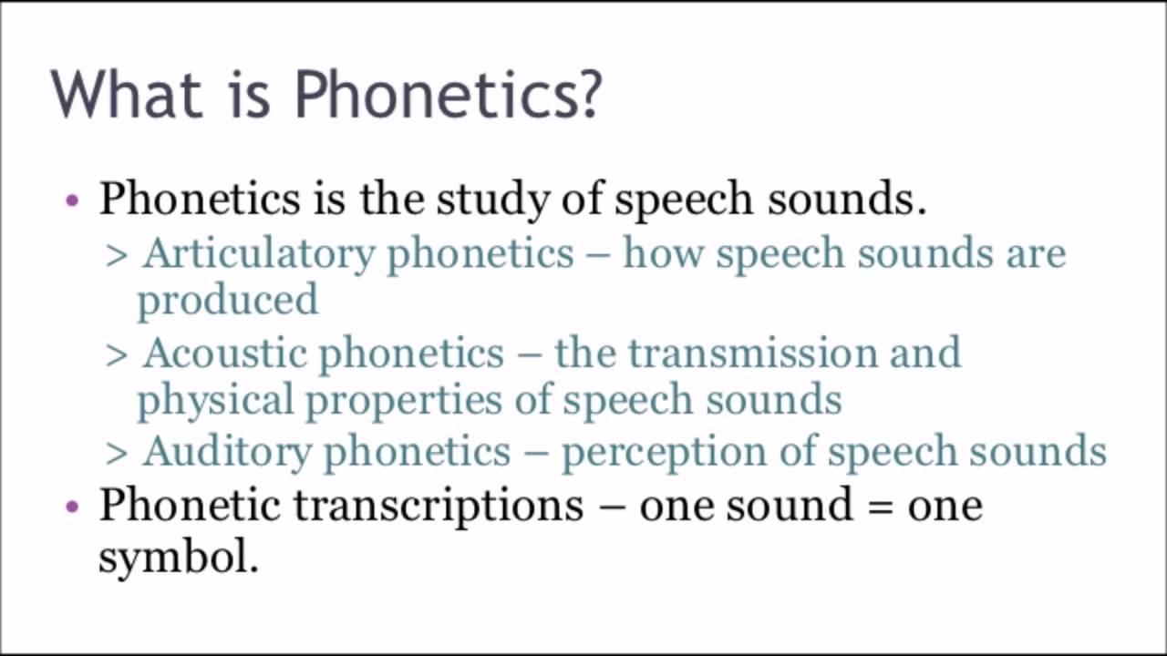 Definition of phonetics youtube definition of phonetics biocorpaavc