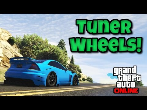 GTA 5 Tips #6: Tuner Wheels: Why You Should Use Them! Side By Side Comparison (PS4)